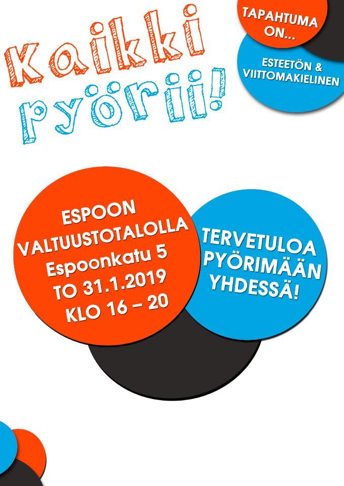 Kaikki pyörii Espoon valtuustotalolla