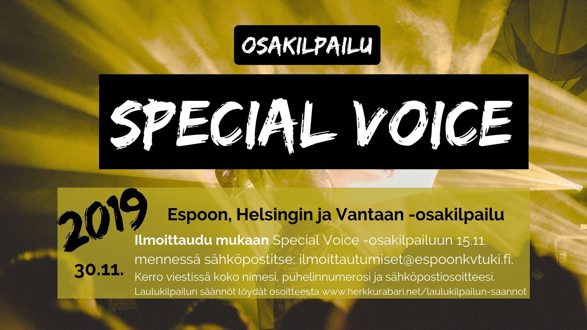 Special VOICE Osakilpailu